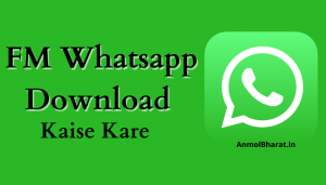 fm whatsapp download kaise kare